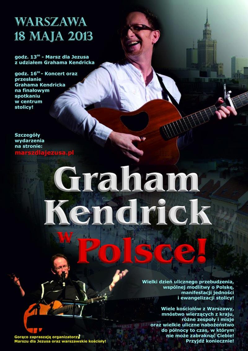 3plakat Graham Kendrick w Polsce 2