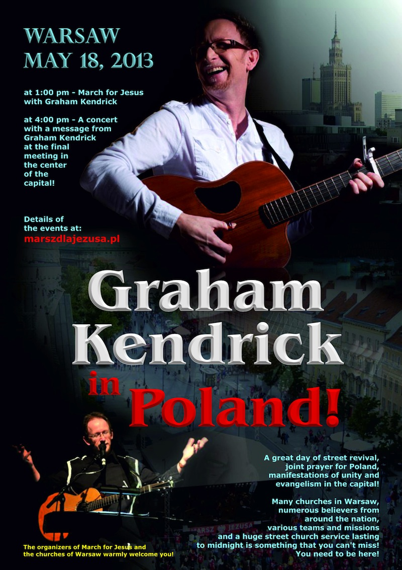 4poster Graham Kendrick in Poland 2