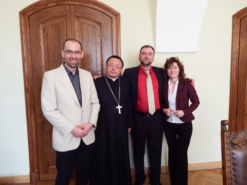 Artur Pawlowski i Biskup Rys 1