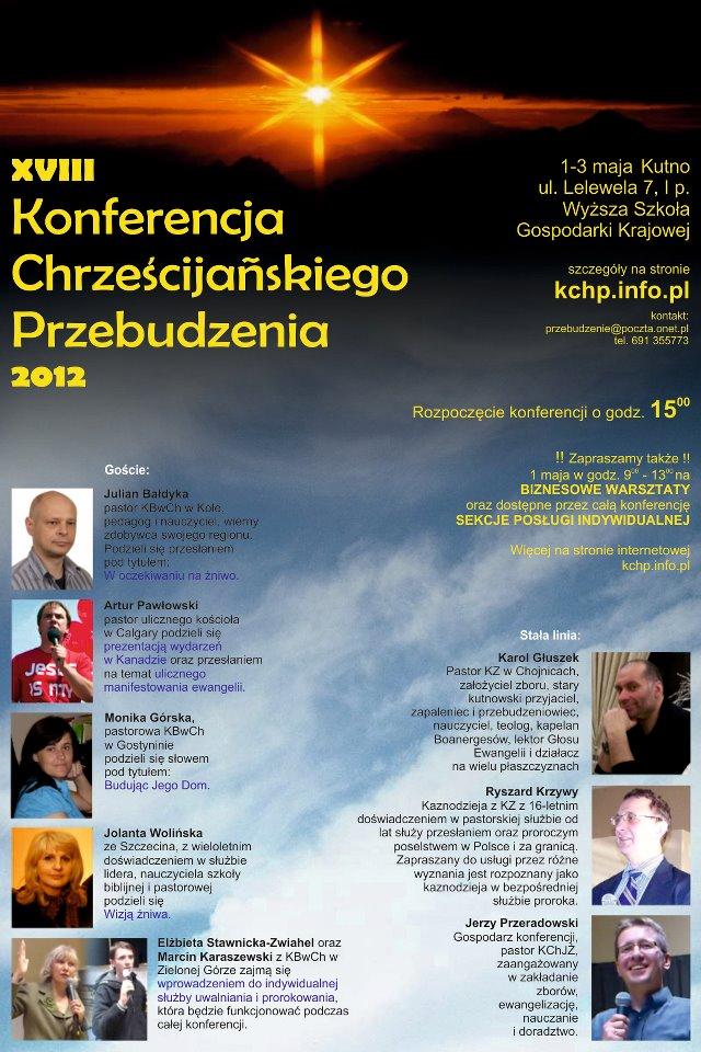 XVIII Konferencja Chrzescijaskiego Przebudzenia 2012 copy2